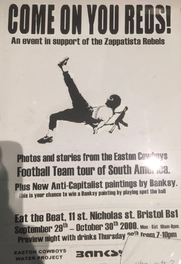 Banksy's 'Easton Cowboys'