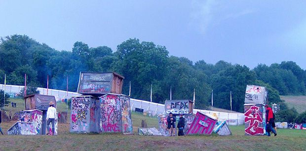 Banksy's 'Glastonbury'