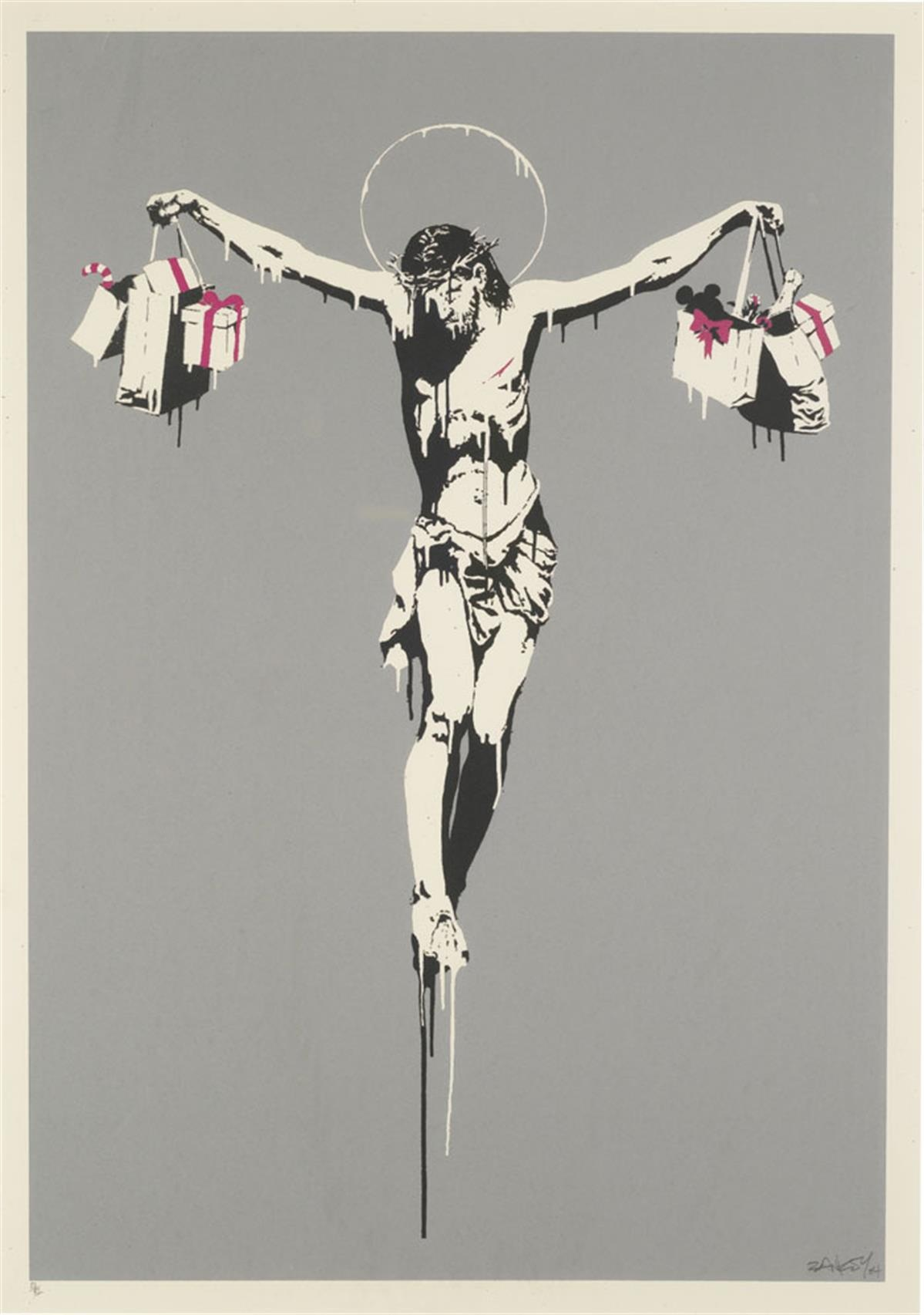 Banksy's 'Christ with Shopping Bags'