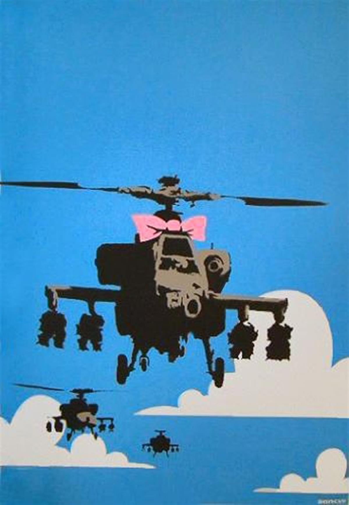 Banksy's 'Happy Choppers'