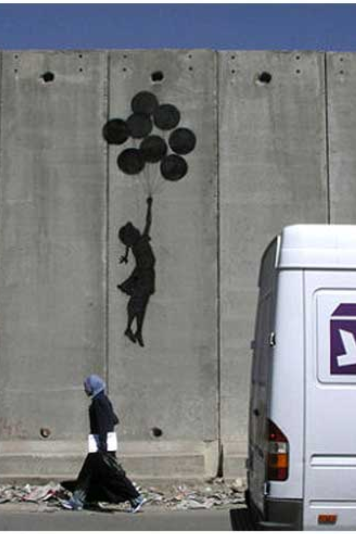 Banksy's 'Flying Balloon Girl'