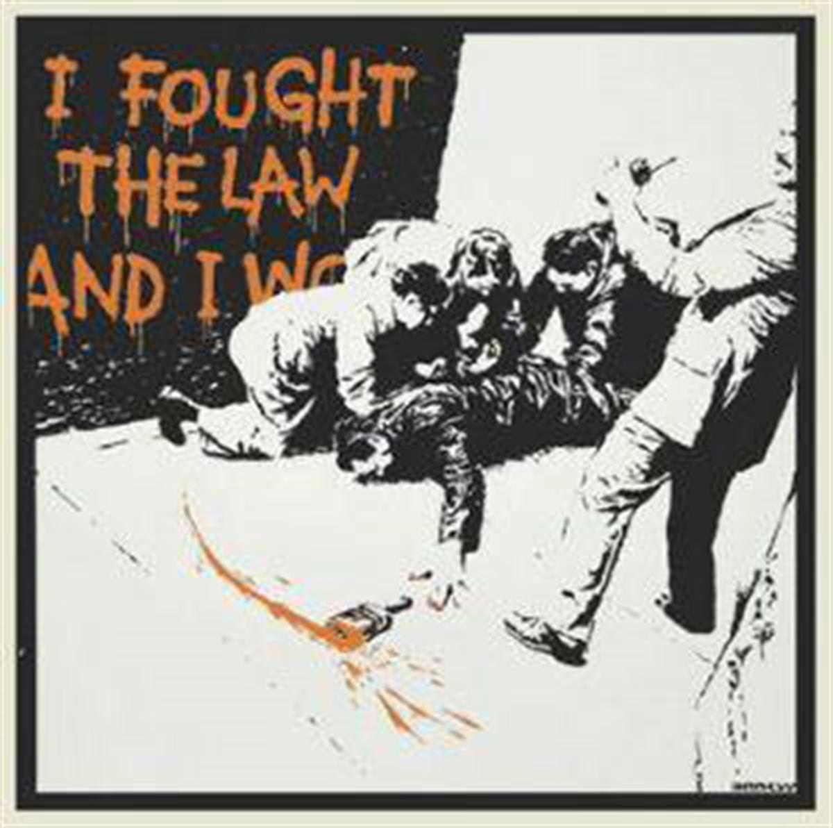 Banksy's 'I Fought The Law'