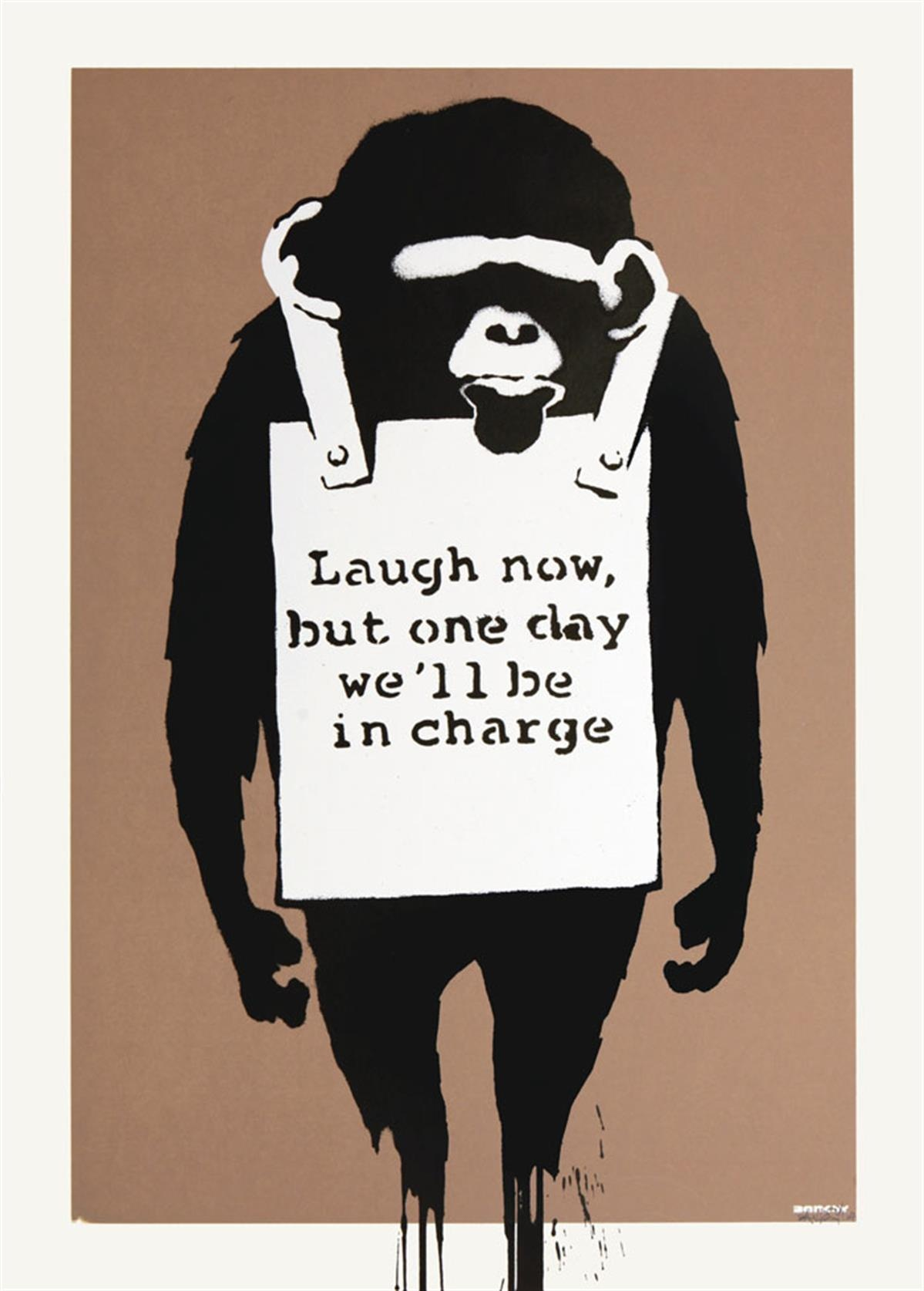 Banksy's 'Laugh Now'